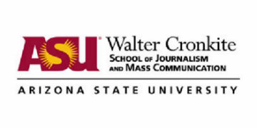 The Walter Cronkite School of Journalism and Mass Communication at Arizona State University logo